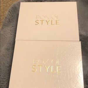 TWO Rachel Zoe Box it Style boxed from Spring 2020